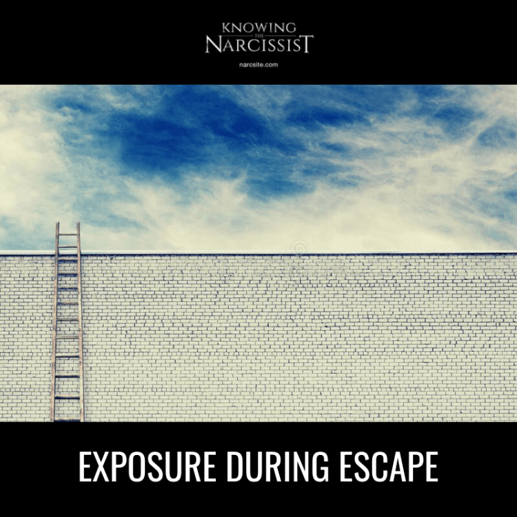 EXPOSURE-DURING-ESCAPE