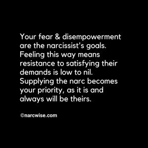 fear and disempowerment