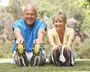 Stretching loosens muscles and improves mobility