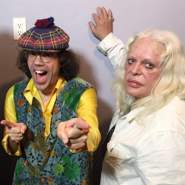 Take 2 : Nardwuar, Genesis P-Orridge   ! The Venue, Vancouver, BC Canada!