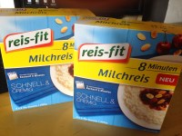 *Werbung* Reis-Fit 8 Minuten Milchreis im Test 2