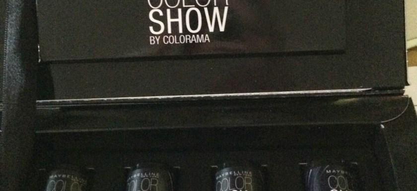 *Werbung* Produkttest Color Show Colorama Vinyl Nagellack 1