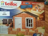 *Werbung* Produkttest Teifoc Strandhaus Steinbaukasten 1