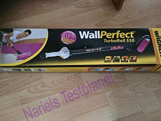 *Werbung* Produkttest Wagner WallPerfect TurboRoll 550 6
