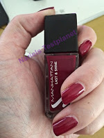 "*Werbung* Produkttest Manhattan Last & Shine Nagellack ""Candlelight Dinner"" 2"
