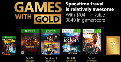 *News*  Die Games with Gold im Dezember 1