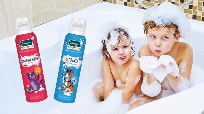 Kneipp Naturkind Bade- und Duschschaum im Test *Werbung* 3