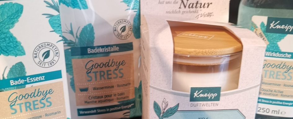 Goodbye Stress von Kneipp *Produkttest* 1