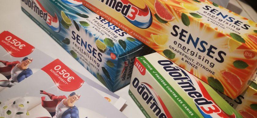 Odol-Med 3 Senses Zahnpasta im Test 3