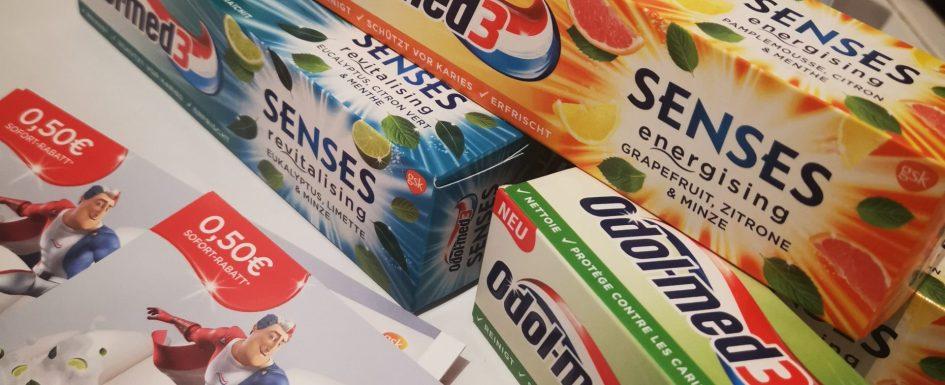 Odol-Med 3 Senses Zahnpasta im Test 2