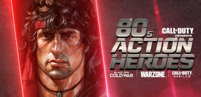 Call of Duty Black Ops Cold War 80er Helden