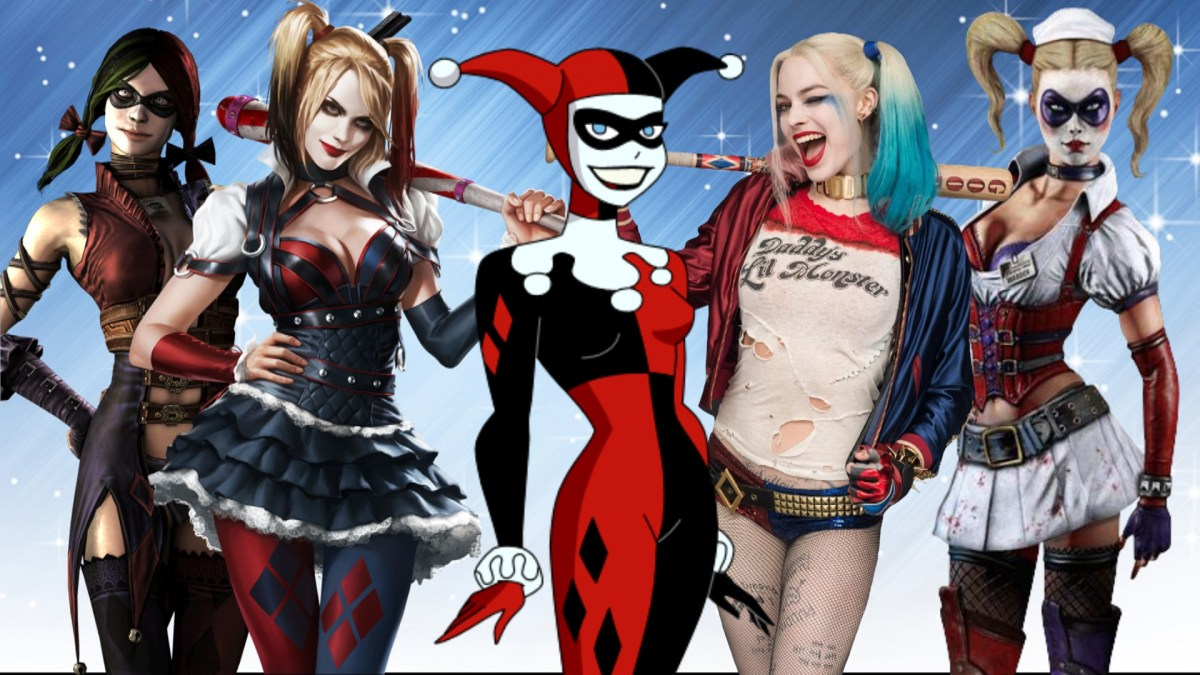 Top 10 Alternate Versions of Harley Quinn