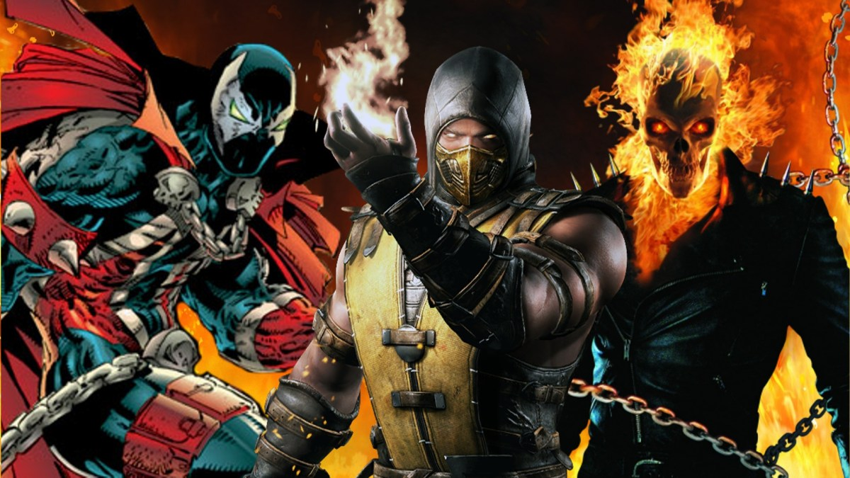 Scorpion vs. Spawn vs. Ghost Rider