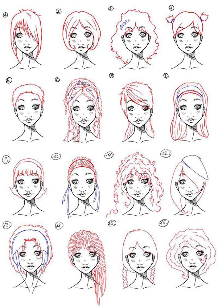 Как рисовать картинки поэтапно для девочек