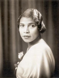 ca. 1920s-1930s --- Contralto Opera singer Marian Anderson, (1902-1993). Marian Anderson was born in Philadelphia, PA, and was the first African-American singer to sing at the New York Metropolitan Opera. Undated photograph. --- Image by © Bettmann/CORBIS