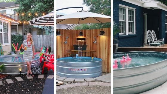 Stock Tank Pool – Is this a trend you'll try to beat the heat!?