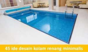 ide desain kolam renang minimalis