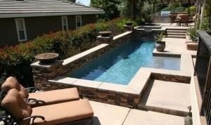 12 contoh gambar desain kolam renang mini di rumah + tips