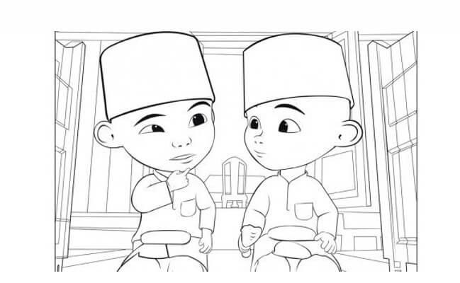 Manfaat Mewarnai Gambar Kartun Lucu Dan 5 Contohnya
