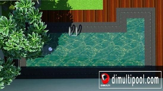 Tips dan Gambar Desain Kolam Renang Mini Belakang Rumah yang Inspiratif 15