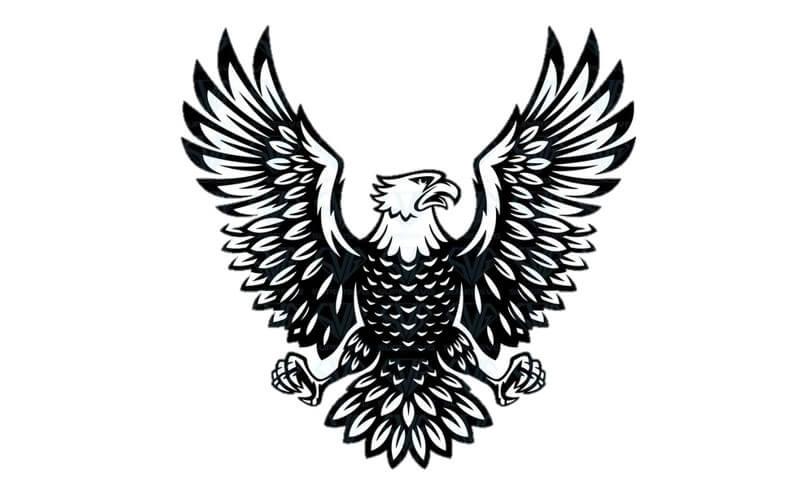 Download Gambar Sketsa Burung Garuda Pancasila Siap Diwarnai