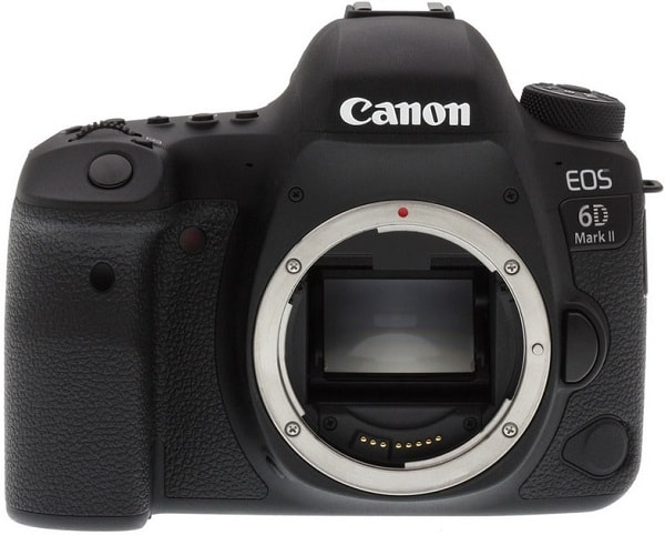 Canon EOS 6D Mark II Price - Front Face