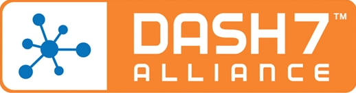 dash7 network connects the moving