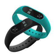 Xiaomi Mi Band 2 Specifications; black and blue variant