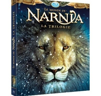 chronicles of narnia blu ray trilogy