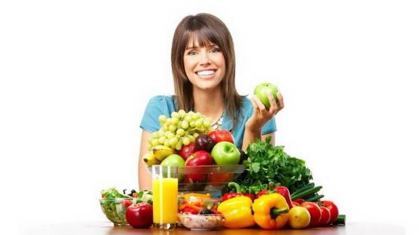 Правильное питание для похудения.