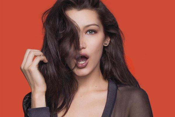 Супермодель Белла Хадид снялась в пикантных образах - фото