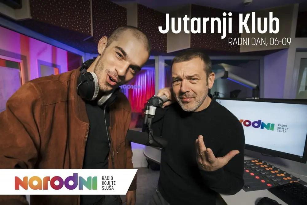 Marko Bratoš i Hrvoje Kečkeš Jutarnji Klub Narodni