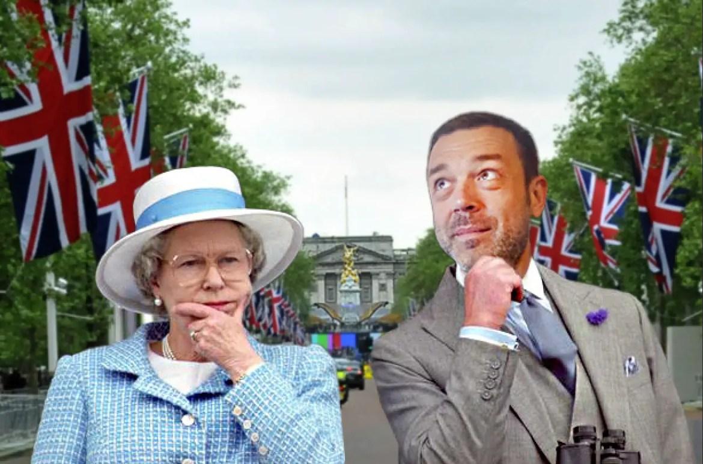 Hrvoje s kraljicom (foto: ilustracija)