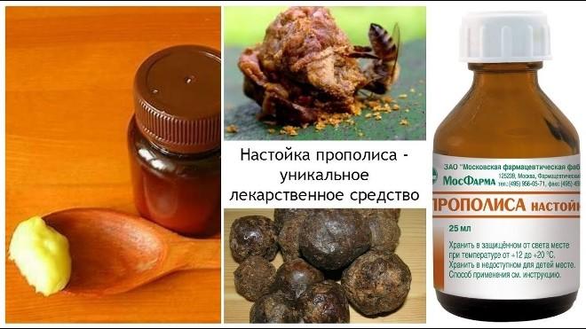 propolis a vodka prosztatitisen