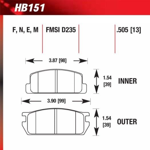 Hawk HB151.505