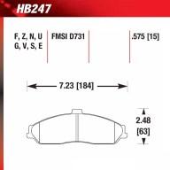 Hawk HB247.575