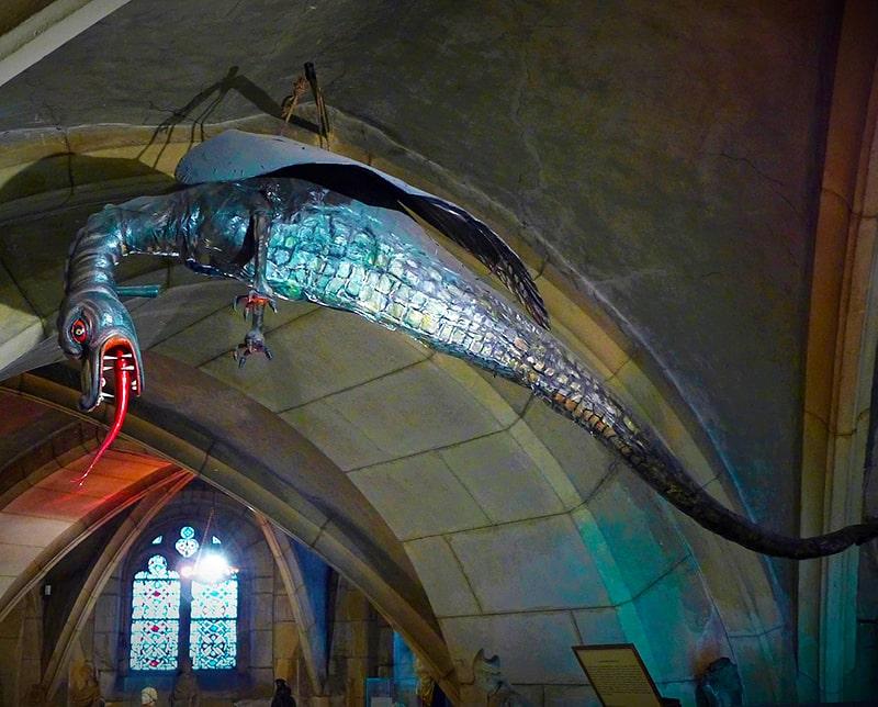 L'effigie du Graoully de l'église St-Etiennne