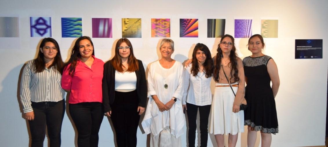 CIENTÍFICA Y ARTISTA DE LA UG COMPARTE PROYECTOS DE NUEVO ARTE ÓPTICO