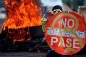 ARDE COLOMBIA POR PROTESTAS, ACORRALAN A IVÁN DUQUE Y LE EXIGEN SUBSIDIOS