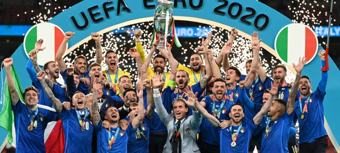 ITALIA ES CAMPEÓN DE LA EUROCOPA 2020