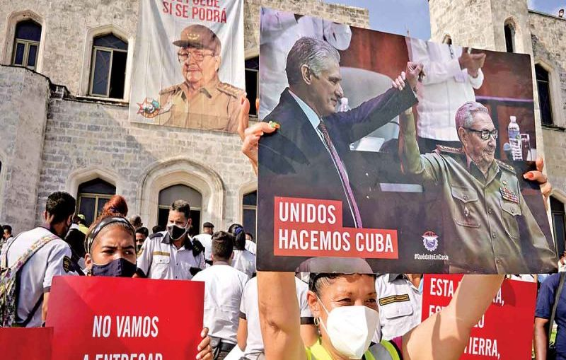13 MENORES DETENIDOS POR PROTESTAR EN CUBA