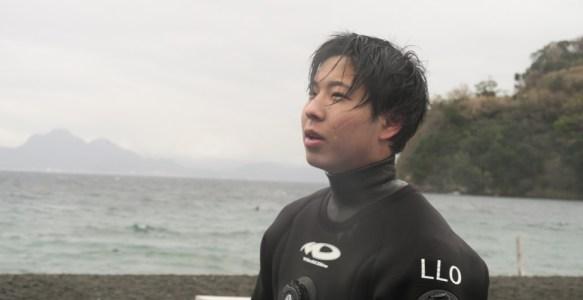 No,123 Scuba Diving in 大瀬崎 「OW講習 小学校時代の同級生講習」