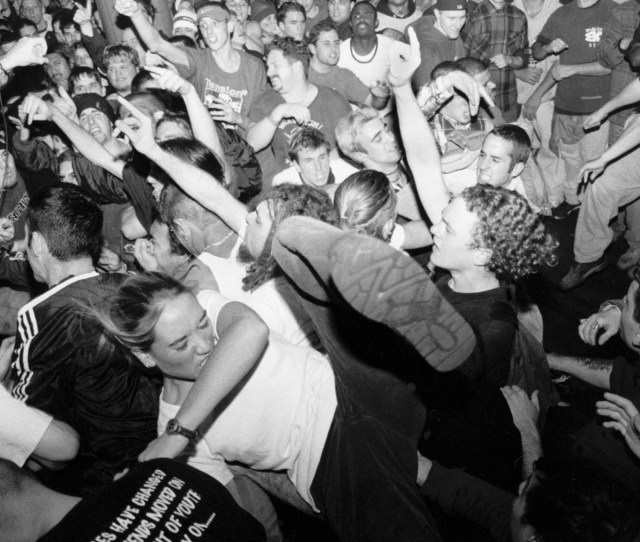 Underground Music Scene Desperately Held On To Its Rebellious Roots Of Power Chords Slam Dancing And Stage Diving What Happened To Hardcore