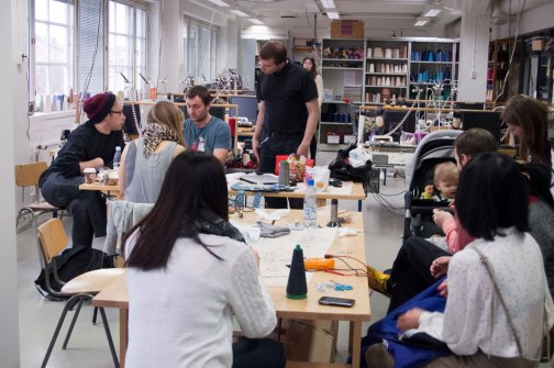 Workshop: Textile thinking for Electronics