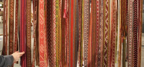 eWeaving Belts: A project looking into Latvian traditions of Belt Weaving
