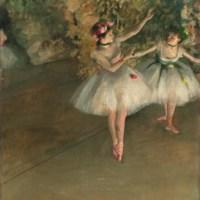O Degas και το μπαλέτο: απεικονίζοντας την κίνηση