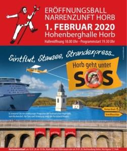 Eröffnungsball 2020 @ Hohenberghalle Horb