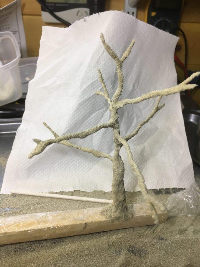 2nd tree armature