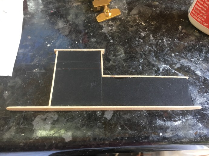 Loading dock with 5mm foamcore base