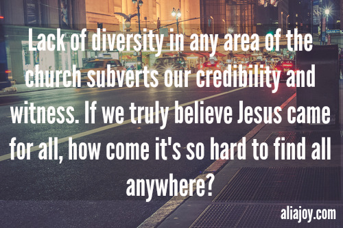 diversity in the church
